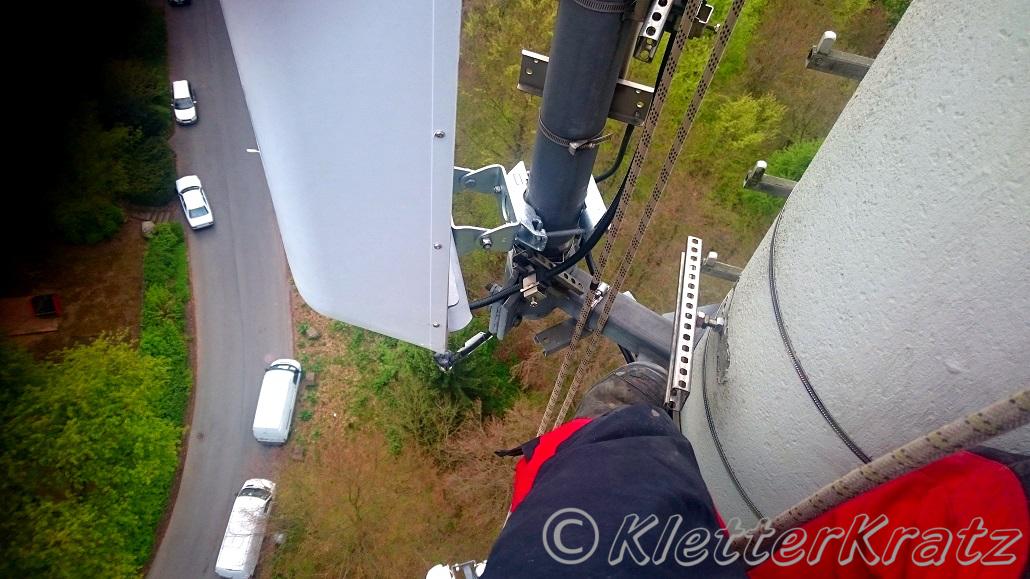 Mobilfunk-Antennentausch